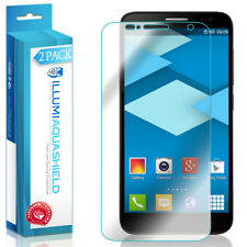2x iLLumi AquaShield Clear Screen Protector Cover Alcatel OneTouch Flash Plus