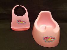 Bereng 00004000 uer - Lots To Love Babies - Pink Plastic Bib & Potty Chair
