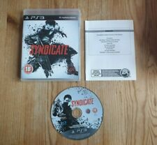 Syndicate - PS3 - Complete