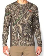 Under Armour Medium Tech Scent Control Long Sleeve Hunting Shirt Realtree Camo