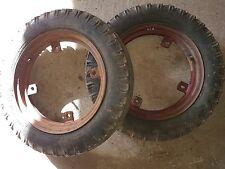 Reifen vorne für Holder B12 B10 Kleintraktor Traktor Schlepper Hofschlepper