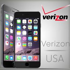 USA VERIZON IPHONE FACTORY UNLOCK SERVICE CLEAN 5S 6 6S 7 7 PLUS