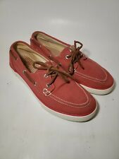 Ralph Lauren Polo Boat shoes mens 8.5 D in Red
