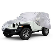 Full Car Cover Vehicle Indoor Waterproof Breathable Protection For Jeep Wrangler