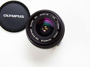 Olympus OM-SYSTEM Zuiko MC Auto-W 28mm f2.8 Lens