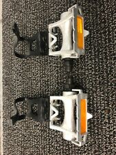 MKS AR-8 Pedals w/ Toe Straps/Clips