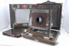 Okuhara 6 1/2 x 8 1/2 6.5x8.5 Wood Field Camera w/Film Holder, Back 2 *OK726