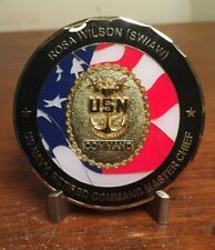 "2.5"" US Navy Command Master Chief Rosa Wilson (SW/AW)  Challenge Coin"