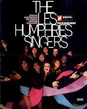Les Humphries Singers ORIGINAL Konzertplakat 1971 ZUSTAND BEACHTEN