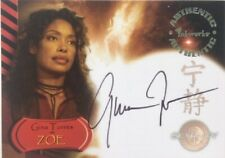 Gina Torres as Zoe Autograph A2 from Serenity by Inkworks