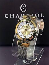 Charriol Alexandre watch  35mm cable bracelet gold-plated bezel quartz