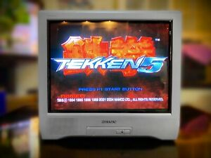 "Sony Trinitron KV-21CT1K 🔥RARE🔥 Vintage 21"" CRT Gaming Arcade Scart RGB Input"