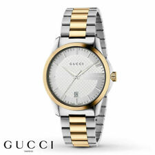 Gucci YA126450 G-Timeless 38MM Men's Two-Tone Stainless Steel Watch