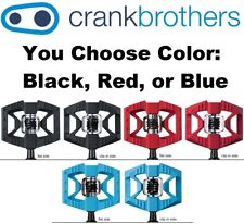 Crank Brothers Double Shot 1 Clipless & Platform Bike MTB Pedals Asst Colors