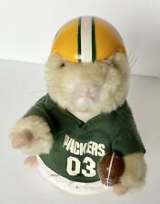 Gemmy Toys - Green Bay Packers Nfl Dancing Hamster - We Are The Champions Song