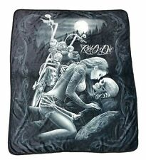 Licensed DGA Ride or Die HD Polar Fleece Soft Plush Blanket 50x60 Inches Lovers