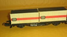 HO Scale/Gauge, Lima,Container Wagon,Freight Car,Flatcar,DB,Deutsche Bahn,Italy