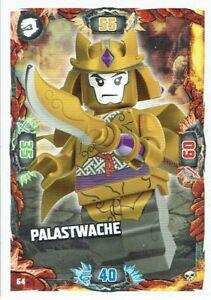 Lego ninjago Series 6 Die Insel TCG Card No. 64 Palace Guard