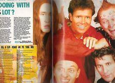 The YOUNG ONES (Rik Mayal) Cliff Richard magazine PHOTO and  Living Doll lyrics