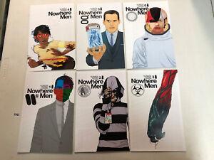 Nowhere Men (2012) #1 2 3 4 5 6 1-6 VF/NM Complete Set Nate Bellegarde art Image