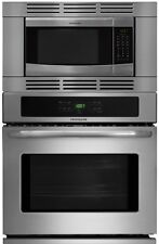 """Frigidaire 27"""" 3 Piece Stainless Steel Electric Wall Oven Microwave Combo"""