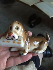 Bond Ware Vintage Dog ornament Bassett Hound ?