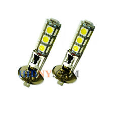 2x H1 13-SMD 5050 LED SMD Fog Lights DRL Driving Lamp Super White 12V