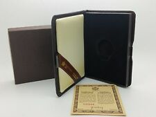 1982 Royal Canadian Mint $100 Gold Coin Proof Empty Brown Leather Box & COA
