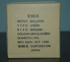 WEATHER BALLOON TOTEX JAPAN CR800 - 32000 meters  100000 ft  800 gr STRATOSPHERE
