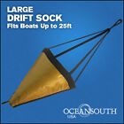 "42"" Drift Sock Sea Anchor Drogue, Sea Brake Fits Boats Up To 25' -Large Size"