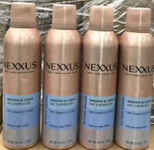 4 NEXXUS SMOOTH & CLEAN DRY SHAMPOO BETWEEN WASHES 6.8 OZ EACH