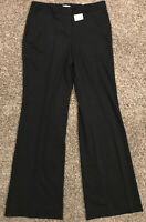 liz claiborne Sophie Womens Size 14T Tall Black Polyester Blend NWT Pants A33