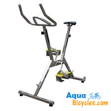 Aqua Bicycle - AquaBicycles.com - Stainless Steel Commercial Grade Pool Bike!