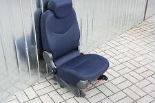 Sitz hinten rechts Einzelsitz SED-474 BLUE DORIA CLOTH Fiat Multipla 186Facelift