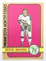 1972-73 Doug Mohns Minnesota North Stars 75 OPC O-Pee-Chee Hockey Card P068