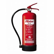 9 Litre Water Fire Extinguisher.