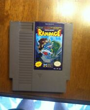 """RAMPAGE""  NES ORIGINAL NINTENDO GAME TESTED"