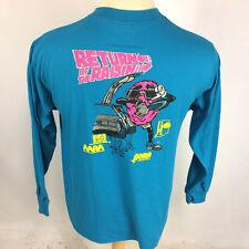 Vintage Return of the Raisins Athletic Club Head Pepsi Tennis 1980's T Shirt