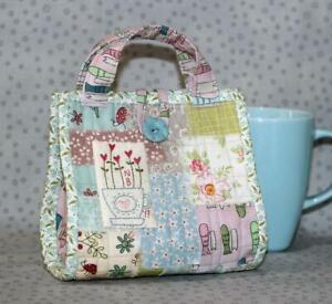 Love a Cuppa Mug Bag Pattern by Natalie Bird of The Birdhouse