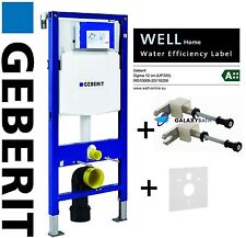 Geberit duofix set 3in1 wall hung wc cadre UP320 sigma citerne fixe bleu