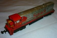 TRIX N GAUGE SANTA FE DIESEL Bo-Bo LOCOMOTIVE 376 with CAB LIGHT