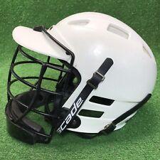 Cascade Lacrosse Helmet White W/mask Black Adult Small Fast Free Shipping