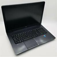 "HP 17.3"" ZBook 17 G2 Quad-Core i7-4710MQ 2.50GHz 16GB RAM 120GB SSD 750GB HDD"