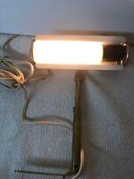 """VTG 7"""" Hobby Hill HANG O LITE Picture Light Art Display Lamp Mount Bracket Orig"""