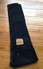 Vintage Levi's Relaxed Tapered High Waist MOM Jeans Black 10 M USA Made GORGEOUS