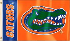"Florida Gators 3' x 5' Flag (Logo with ""Gators"") NCAA Licensed"