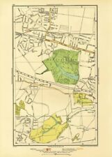 BEXLEY. Welling Blackfen Blendon East Wickham Upton Halfway Street 1933 map