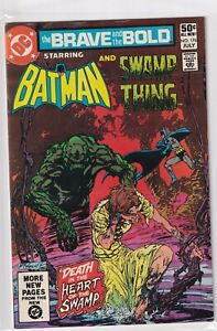 BATMAN #176 AND SWAMP THING DC COMICS BRAVE AND THE BOLD 1981