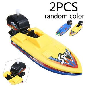 2x Wasserspielzeug Badespaß Pool Kinderspielzeug Badewanne Schwimm Boot Badeboot