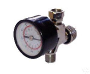Mini Inline Air Regulator with Pressure Gauge In-line